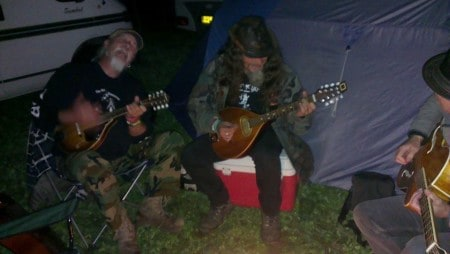 Late night shenanigens @ Weyfest 2014 with Pete Bailey and David Morgan